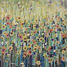 Klimt's garden. by Marilia Martin
