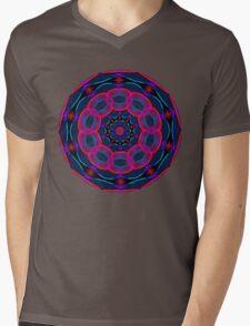 Psychedelic Circles Mens V-Neck T-Shirt