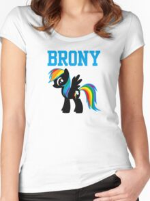 20% Cooler Brony Women's Fitted Scoop T-Shirt