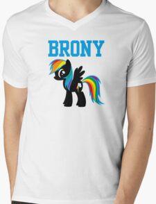 20% Cooler Brony Mens V-Neck T-Shirt