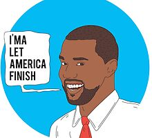 Kanye West For President by tbow1991