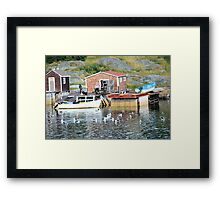 Well Earned Rest Framed Print