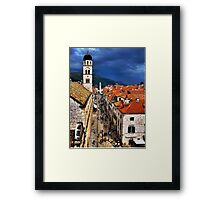Dubrovnik After The Storm Framed Print