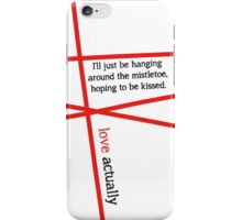 Minimalist - Love Actually #3 iPhone Case/Skin