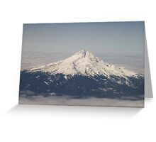 Mountain in the sky Greeting Card