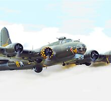 B-17 Memphis Belle by Hertsman