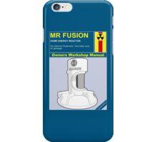 Mr Fusion iPhone Case/Skin