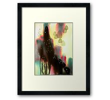 """Space Glue"" Framed Print"