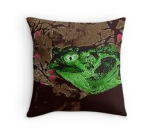 Paperbag Picture Throw Pillow