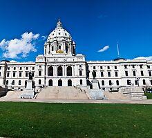 Minnesota Capitol by Sharlene Rens