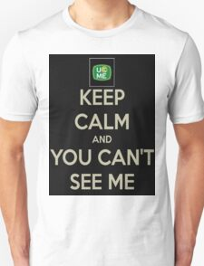 Keep Calm John Cena T-Shirt