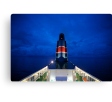 5 ★★★★★ . Nighfall on Baltic Sea  on a board  MF Scandinavia . by Brown Sugar. F* Featured in All Water in Motion and Reflections in Water . Favorites: 2 Views: 712 . thx! Canvas Print