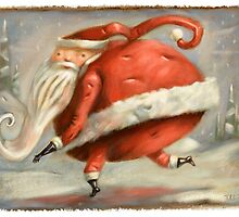 Santa! by Tim Lee