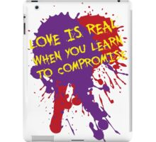 Love Is Real iPad Case/Skin