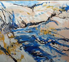River Bank by John Fish