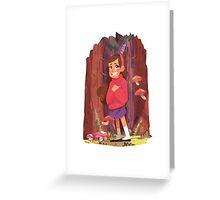Mabel Greeting Card