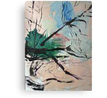 Leaping Tree Metal Print