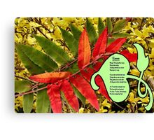 Leaves and More Leaves,  Canvas Print