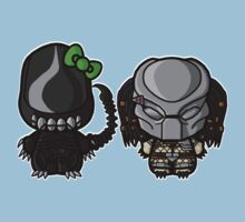 Alien & Predator by TheRandomFactor