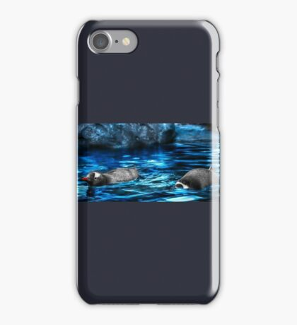 Gentoo Penguin Plunge iPhone Case/Skin
