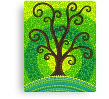 unfurling tree of lushiousness Canvas Print