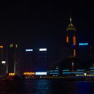 Wan Chai Hong Kong by Night by Richie Wessen
