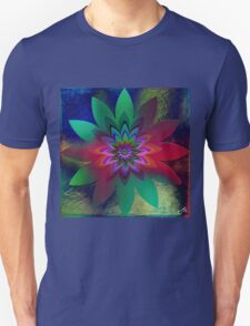 """ The flower of the happiness ""  Unisex T-Shirt"