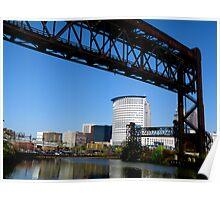 Bridge in the Flats Poster