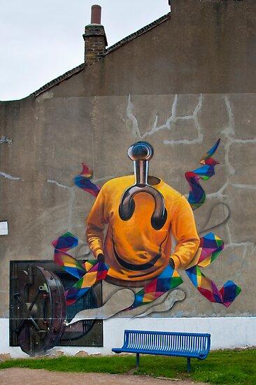 London Graffiti: What does it mean? by DonDavisUK