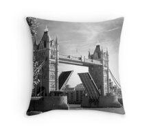 Tower Bridge - London, United Kingdom Throw Pillow