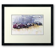 Italian GP Livorno 1937  Framed Print