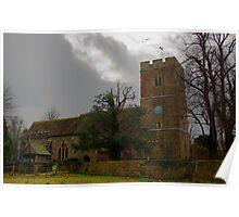 All Saints Church, Hollingbourne Poster