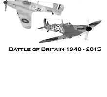 Battle of Britain 75th Anniversary  by Radwulf