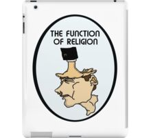 The Function Of Religion  iPad Case/Skin