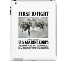 First To Fight -- US Marine Corps iPad Case/Skin