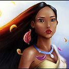 Pocahontas Wallpaper by Danielle Pioli