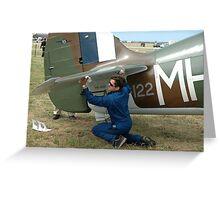 Denning & Boomerang,Avalon Airshow,Australia 2005 Greeting Card
