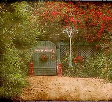 Romantic Gardens 2 by Marie Luise  Strohmenger