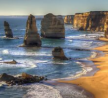 The Twelve - Revisited - The Twelve Apostles, Victoria Australia - The HDR Experience by Philip Johnson
