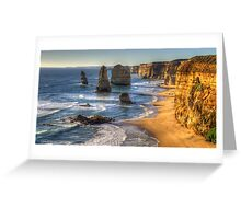 Degrees of Separation  #1 - The Twelve Apostles, The Great Ocean Road, Australia - The HDR Experience Greeting Card
