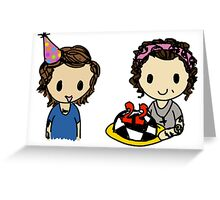 Louis' Birthday Greeting Card