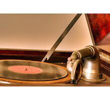 Victrola Photographic Print