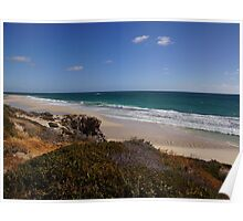 Yanchep Lagoon (south beach) late afternoon Poster