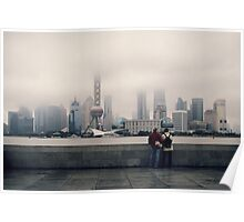 View from the Bund Poster