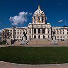Minnesota Capitol Building II by Daniel Rens