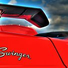 HDR - Swinger Wing and Badge by Doug Greenwald