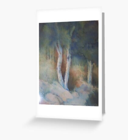 Saras forest Greeting Card