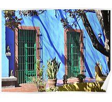 Frida Kahlo Museum, Mexico City, Mexico Poster