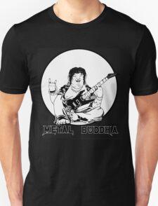 Metal Buddha Black T-shirt T-Shirt