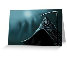 Grim Reaper Greeting Card
